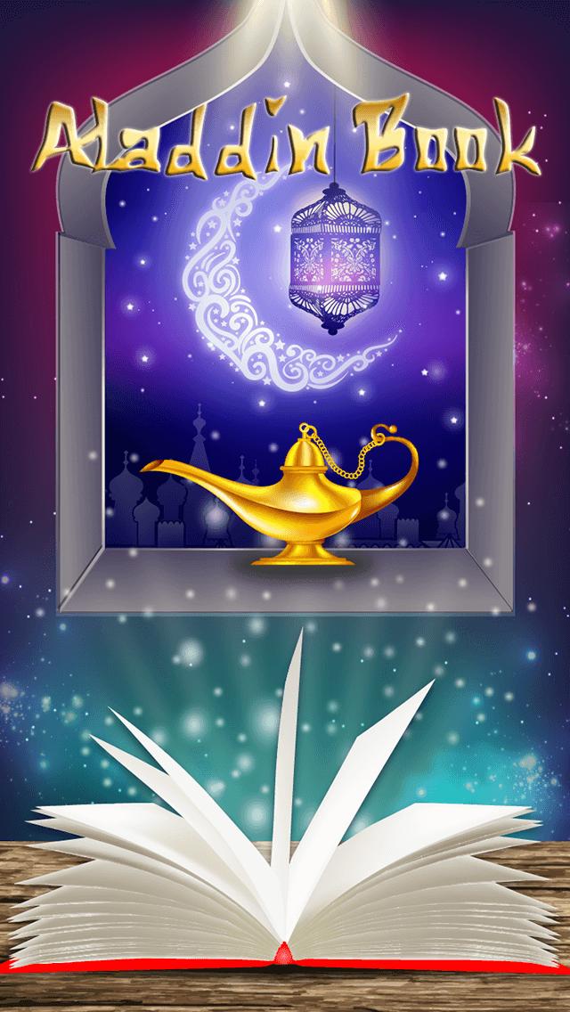 Aladdin Book дизайн -webspektr